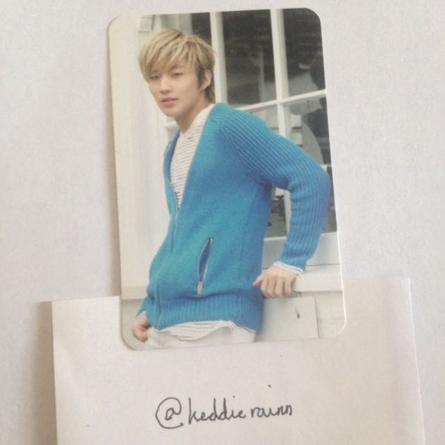{USA ONLY} BAP: Jongup Unplugged 2014 Official Photocard