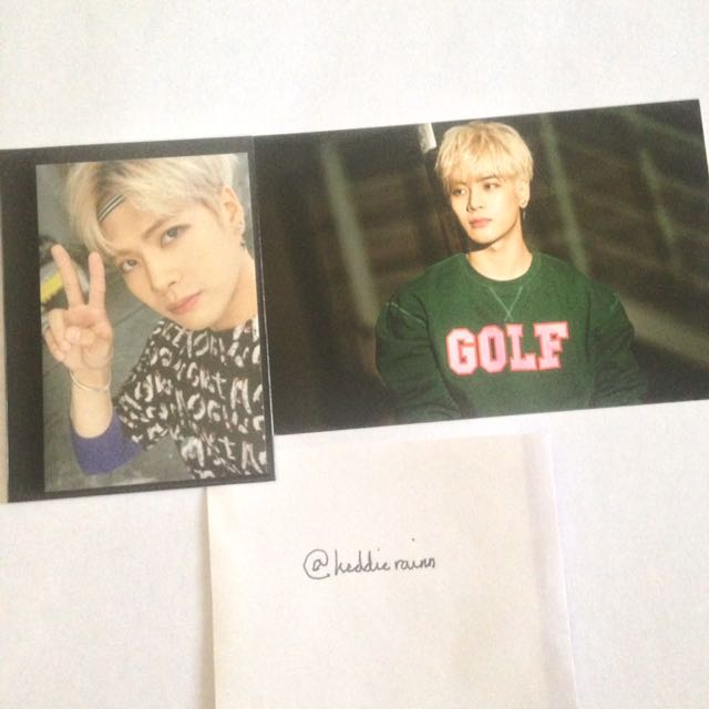 {USA ONLY} Got7: Jackson Just Right Photo Official Photocard