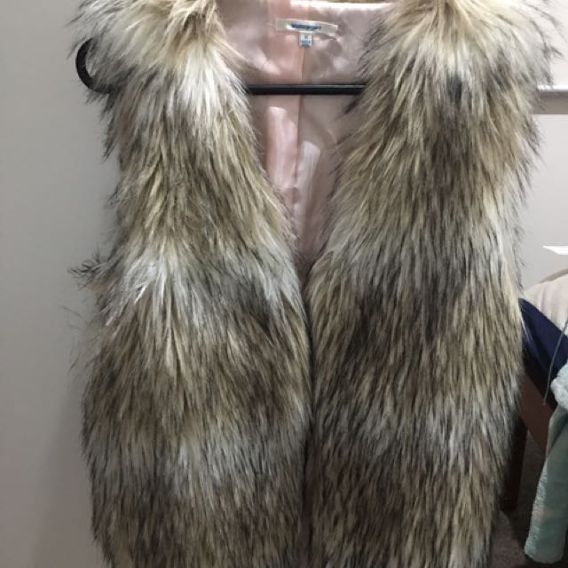 Valley Girl Fur Vest
