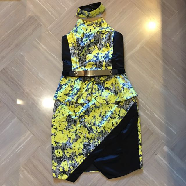 VONE Blooming Fleurs Collection Dress