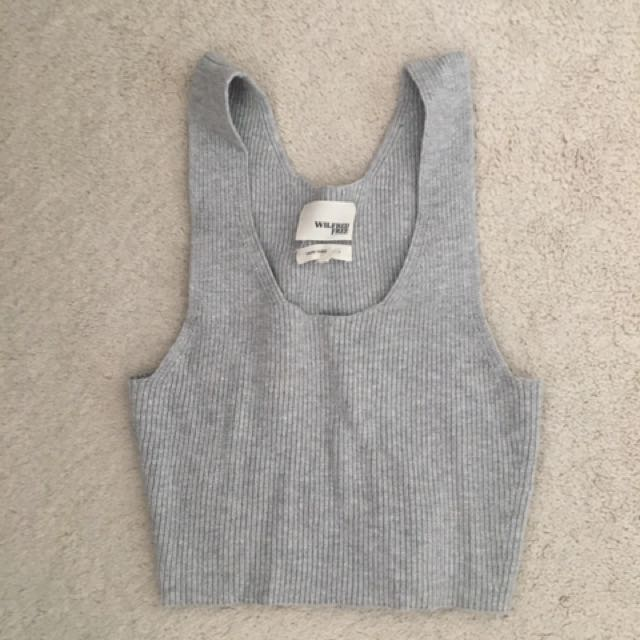 Wilfred Free Sweater Crop Top