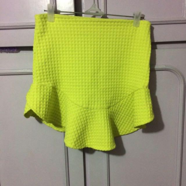 Zara Frilled Skirt