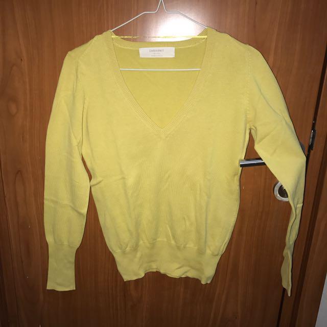 Zara Knit Yellow Original