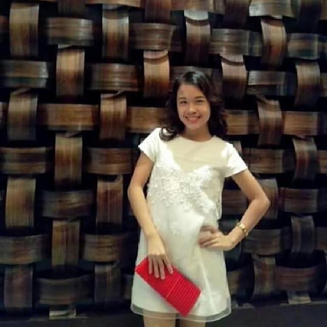 ZARA WHITE DRESS!!!
