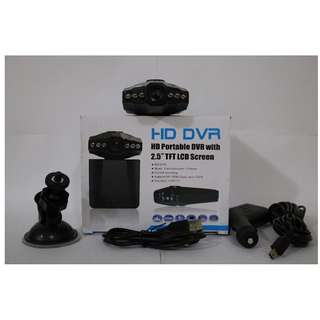 "Brand New 2.5"" HD Dashcam Camera"