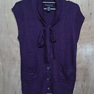 Violet Sleeveless Top