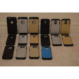 Brand New Spigen Cases for Smartphones