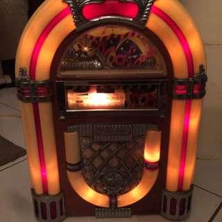 復古木質收音機