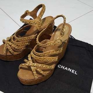 Authentic CHANEL Platform shoe