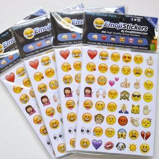 912 emoji 19 sheets whatsapp emoticon stickers emoji FULL SET NEW
