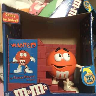 M&M Candy Included