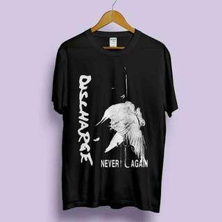 🚚 Discharge Never Again 短袖T恤 Hardcore Punk