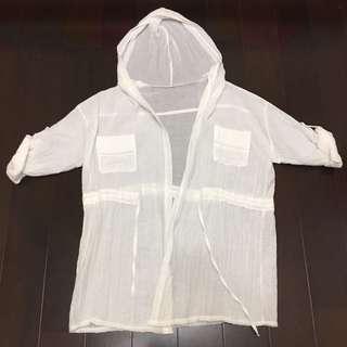 日系棉麻罩衫 外套