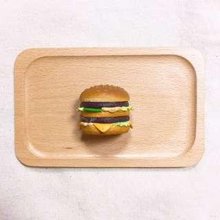 寄賣 麥當勞大麥克漢堡磁鐵 便條夾