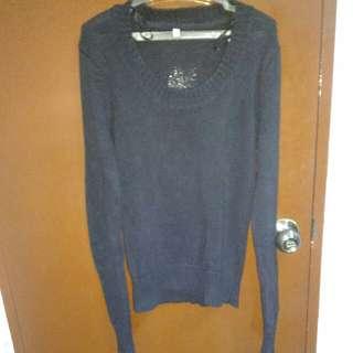 Black Sweater Small Size.