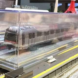 HK MTR TRAIN MODEL TSUEN WAN LINE