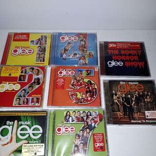 Glee, The Music Soundtrack Cds