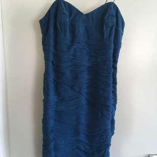 Wish Ink Size 12 Silk Dress