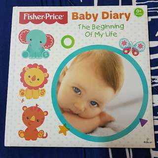 Fisher-Price Baby Diary