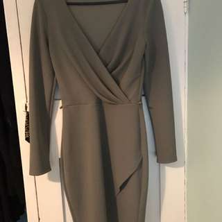 Miss Selfridge Cowl Neck Dress
