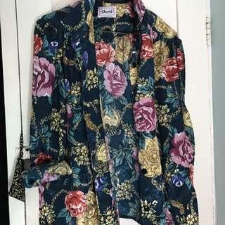 Vintage Oversized Floral Shirt