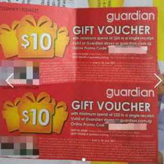 Looking For Guardian Voucher
