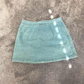General Pants Subtitled Blue Denim Soirt