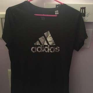 Adidas Black T Shirt