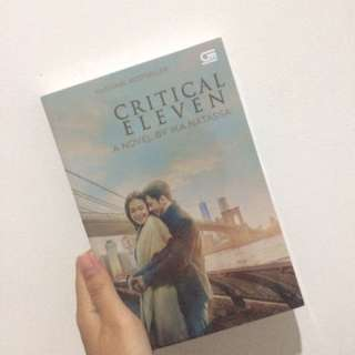 Novel Critical Eleven Cover Poster