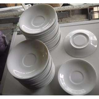 12cm Porcelain Saucers