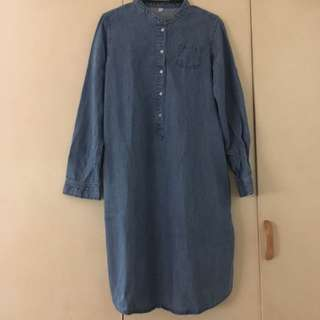 Denim dress (unbranded)