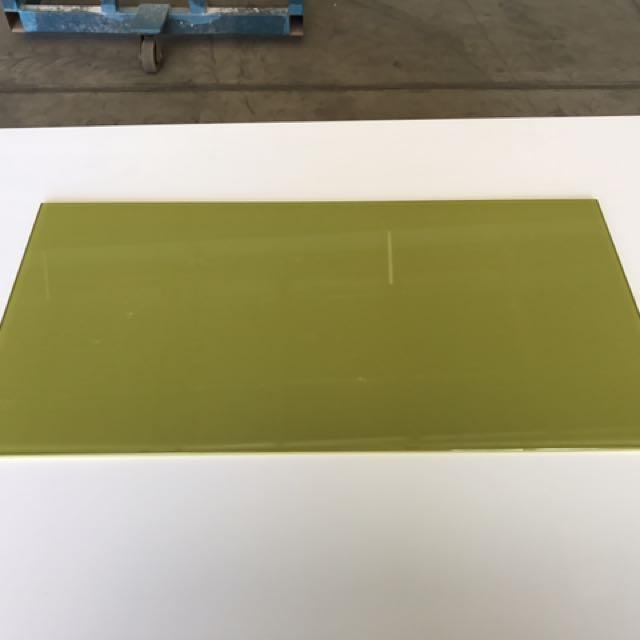 10x Coloured Glass Tile Sheets 60cm X 30cm X 0.5cm