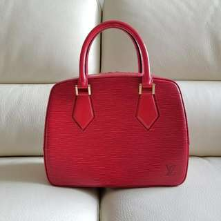 LOUIS VUITTON top handle handbag