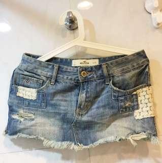DA001 全新 New Hollister Jean Denim Skirt 牛仔裙