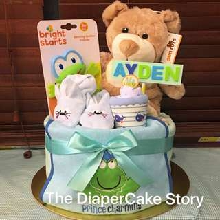 Prince Charming Diapercake (SOLD)