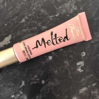 TOO FACED MELTED LIPSTICK MELTED NUDE