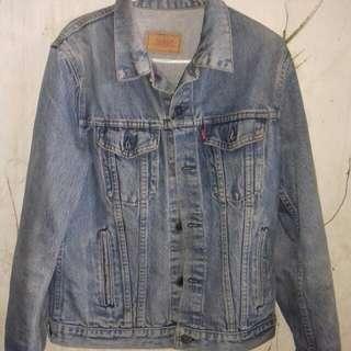 Jaket jeans levis original