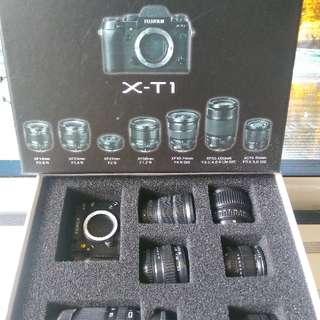 磁石貼 Magnetic _ 富士相機 Camera(toy)