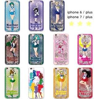 {代購} Sailor Moon美少女戰士Iphone 6/6s/6plu/7/7s/7plus手機軟殼
