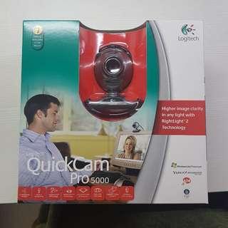 BNIB Logitech Quickcam Pro 5000