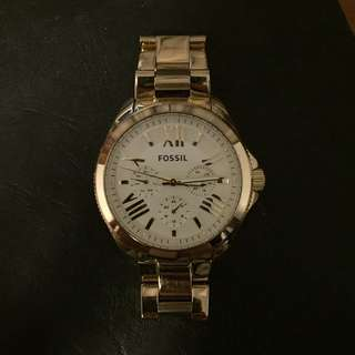 Fossil Cecile Gold Stainless Steel Watch