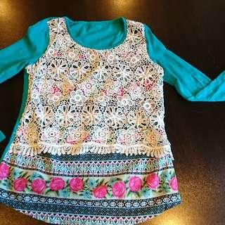 Long Sleeve Fashion Top Blouse