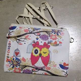 Owl Sling Bag (small)