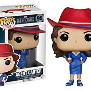 Original Funko Pop Agent Carter #96
