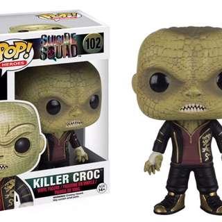 Original Funko Pop Suicide Squad Killer Croc #102