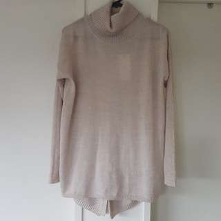 Tan Coloured Merino Jumper