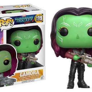 Original Funko Pop Gamora Guardians Of The Galaxy Vol 2