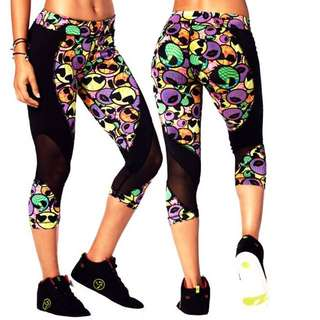 Zumba Capri Leggings