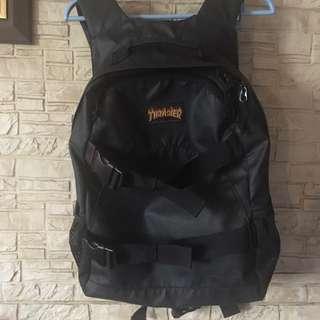 Thrasher 火焰 滑板包 後背包 正品