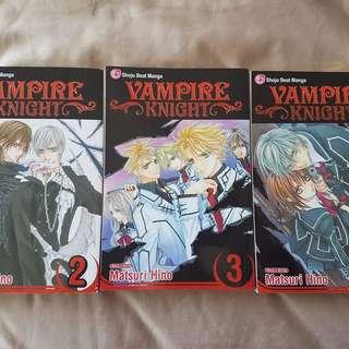 Vampire Knight 2,3 & 4